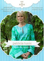 digital patricia tunic sewing pattern