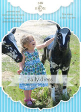 digital sally dress sewing pattern