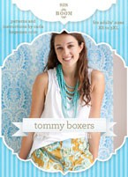 digital tommy boxer short sewing pattern