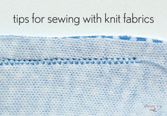Tips for sewing with knit fabrics