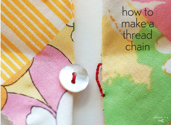 How to make a thready chain