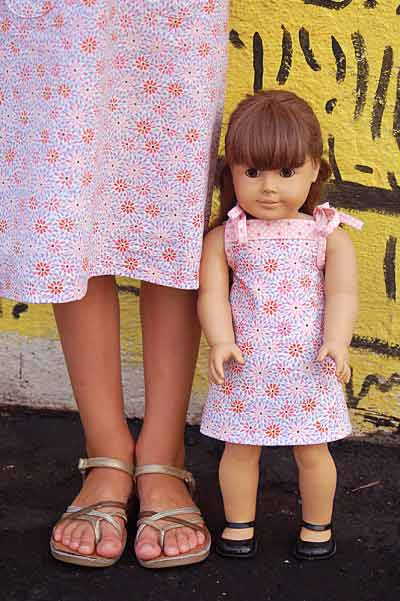 18-inch doll Popover Sundress