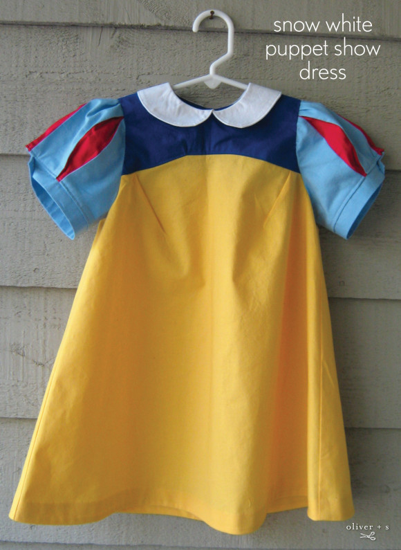 Oliver + S Puppet Show Dress as Snow White Dress