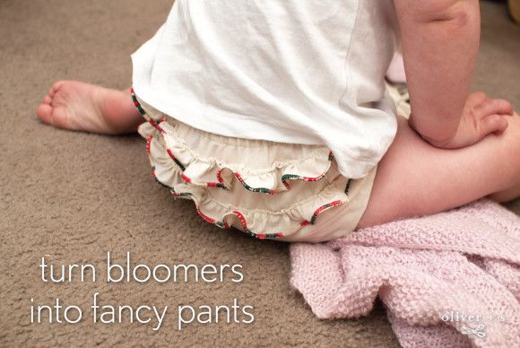 Oliver + S Seashore Bloomers with ruffles