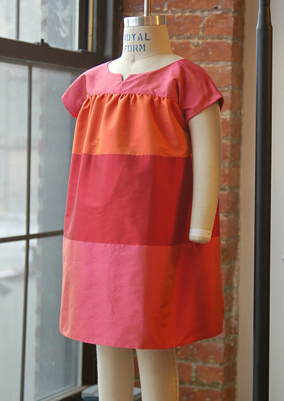 Ice Cream Dress, View B