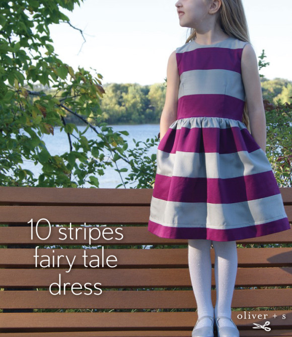 Color blocked Oliver + S Fairy Tale Dress