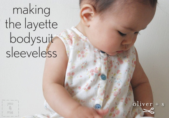 Sleeveless Oliver + S Lullaby Layette bodysuit
