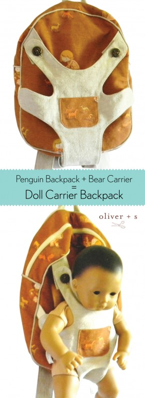 Doll Carrier Backpack