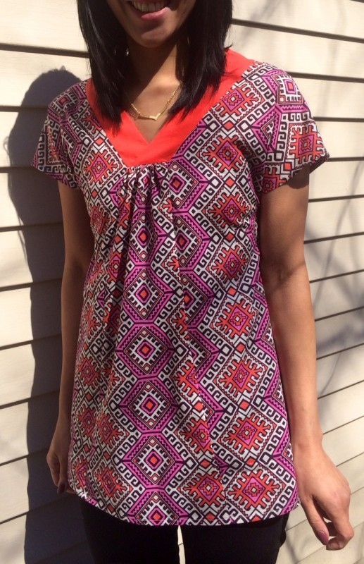 Liesl + Co. Cappuccino Tunic