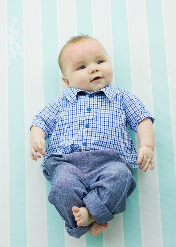 lullaby layette shirt and baby art museum trousers