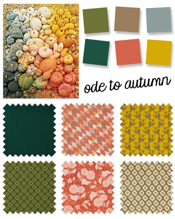 color palette: ode to autumn