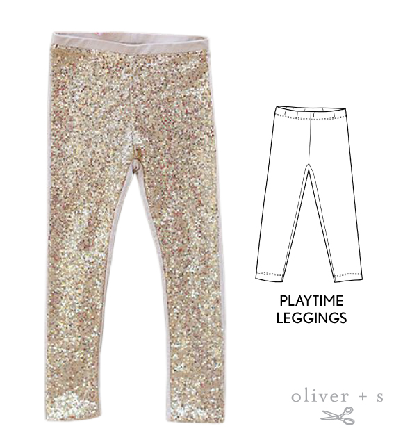 Use the Oliver + S Playtime Leggings to recreate the inspirational image