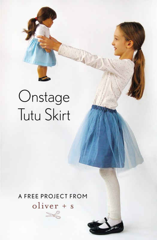 Oliver + S Onstage Tutu Skirt free project
