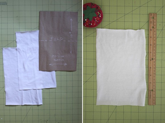 Adding thumbhole cuffs to the Oliver + S Field Trip Raglan T-shirt