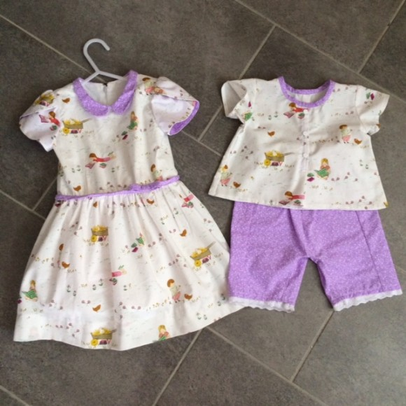 Oliver + S Fairy Tale Dress and Lullaby Layette