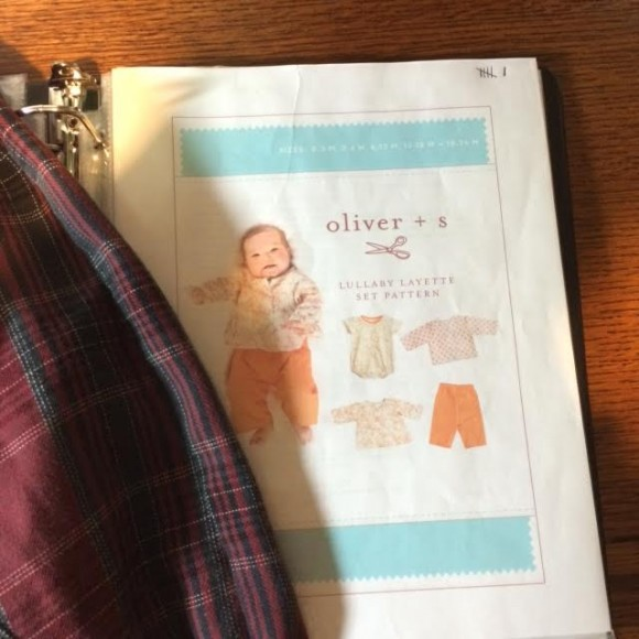 Oliver + S Lullaby Layette pattern cover