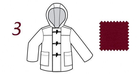 Oliver + S School Days Jacket in Marsala