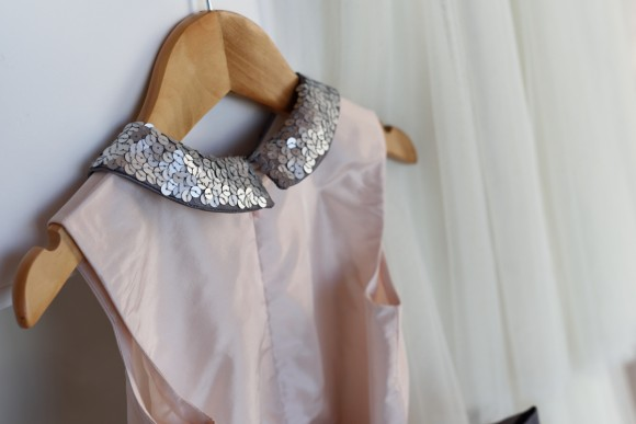 Sequin collar on an Oliver + S Fairy Tale Dress