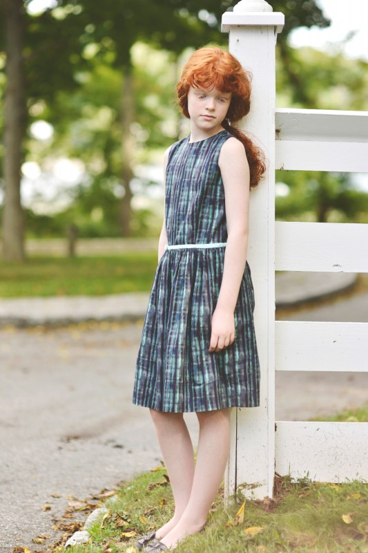 Oliver + S Fairy Tale Dress in Liberty of London