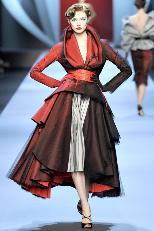 galliano for dior spring 2011