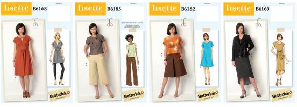 Lisette for Butterick sewing patterns