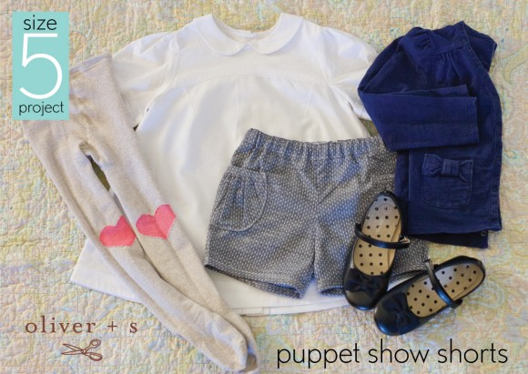 Size 5 project: Oliver+ S Puppet Show pattern