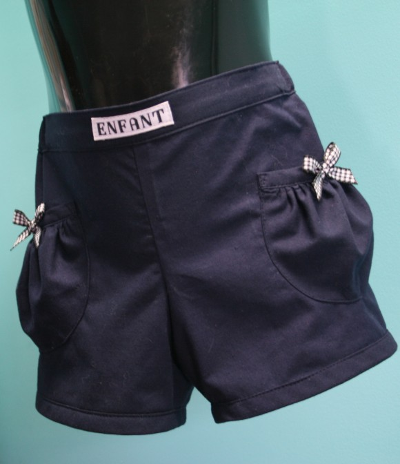 Oliver + S Puppet Show Shorts with bows