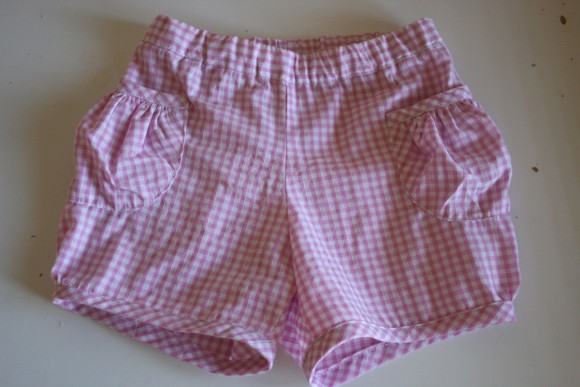 Oliver + S Puppet Show Shorts in gingham