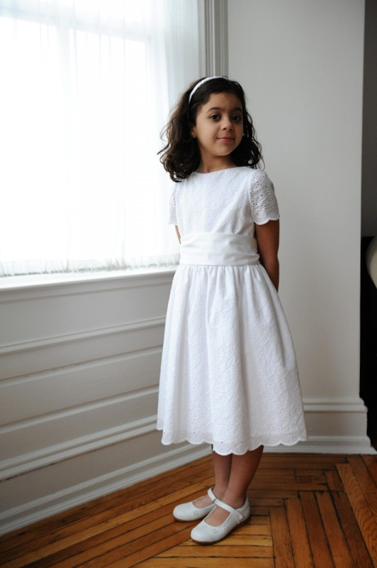 Oliver + S Fairy Tale Dress with sash