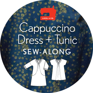 Cappuccino Sewalong Button
