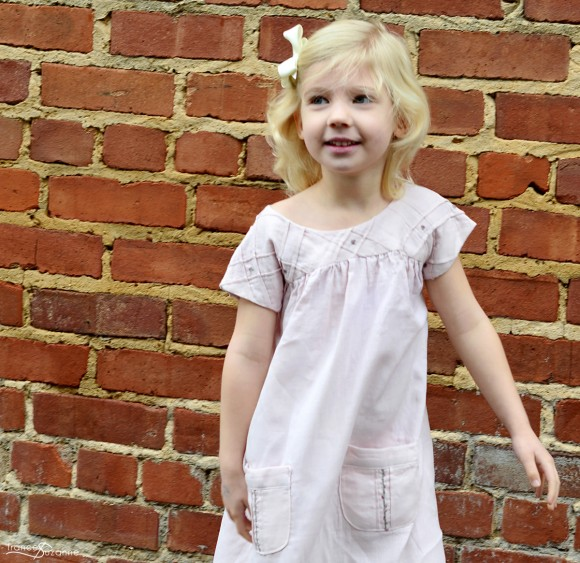 Oliver + S Ice Cream Dress with tucks