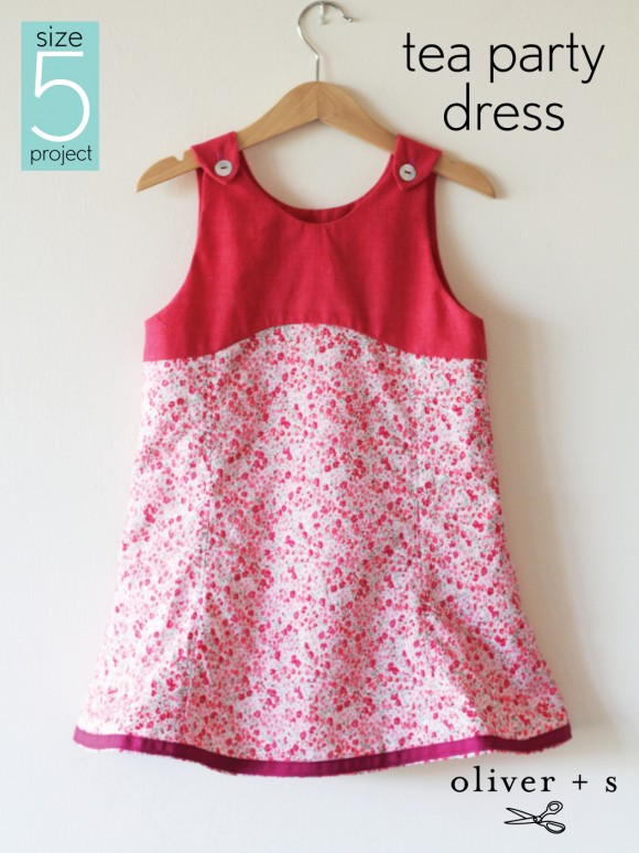 The size 5 project: Tea Party Dress