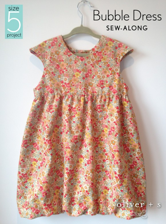 Oliver + S Bubble Dress sew-along