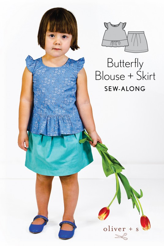 Oliver + S Butterfly Skirt sew-along