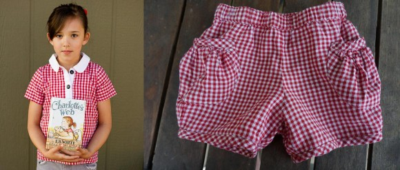 Oliver + S patterns in red gingham
