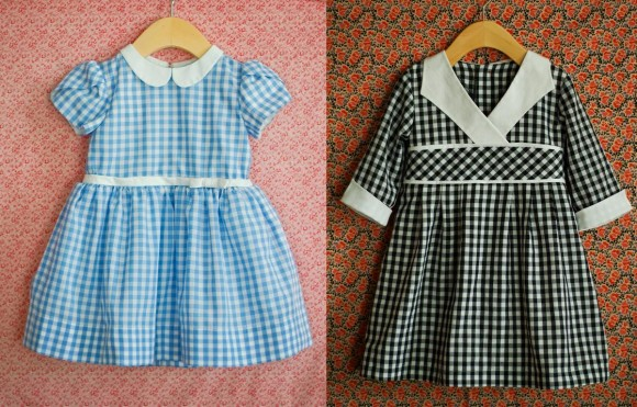 Oliver + S patterns in gingham