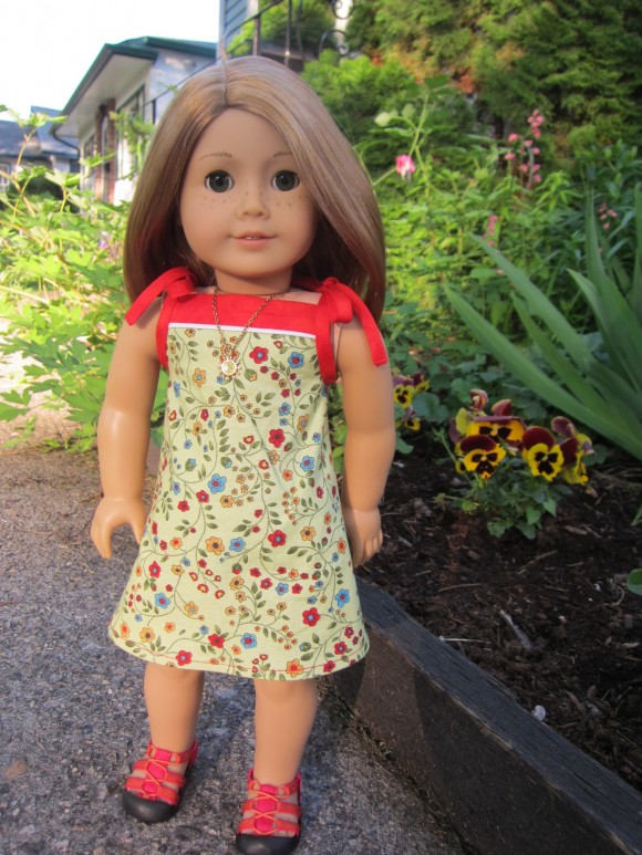 Oliver + S Popover Doll Dress