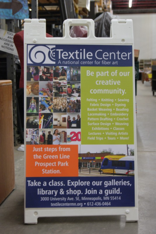 World's largest textile garage sale