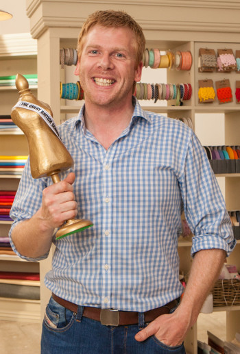 Matt Chapple season 3 winner of The Great British Sewing Bee