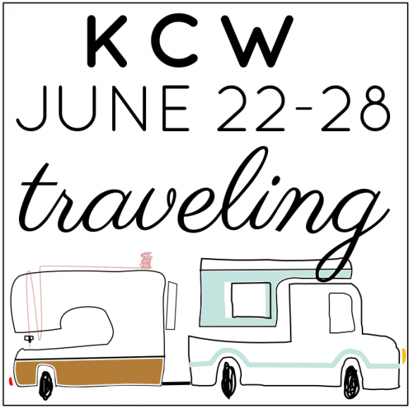 Kids Clothes Week traveling theme