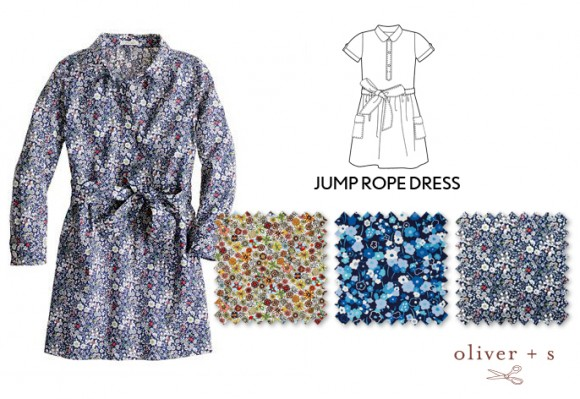 Inspiration for an Oliver + S Jump Rope Dress