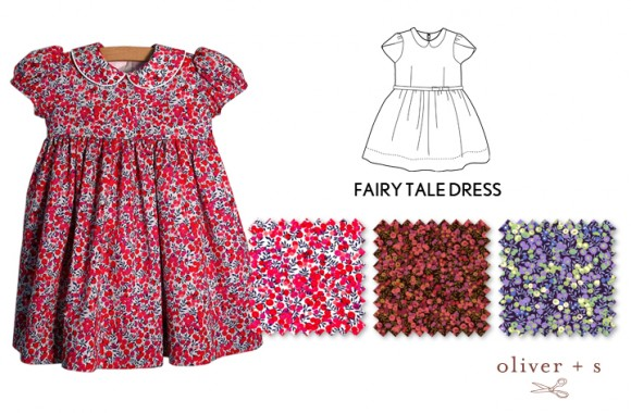 Inspiration for an Oliver + S Fairy Tale Dress