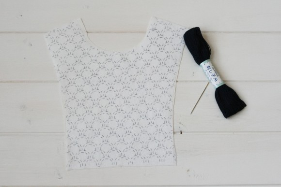 Sashiko embroidery tutorial