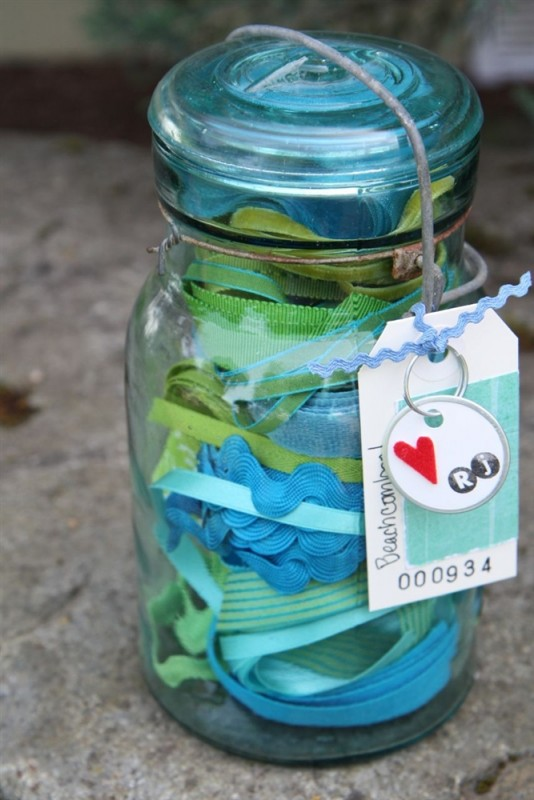 Beachcomber Jar from The Ribbon Jar