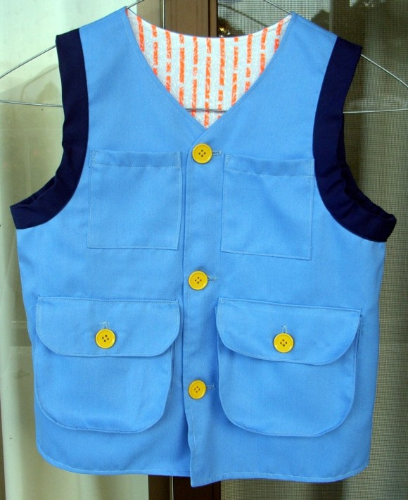 Explorer Vest from the Oliver + S Little Things to Sew book