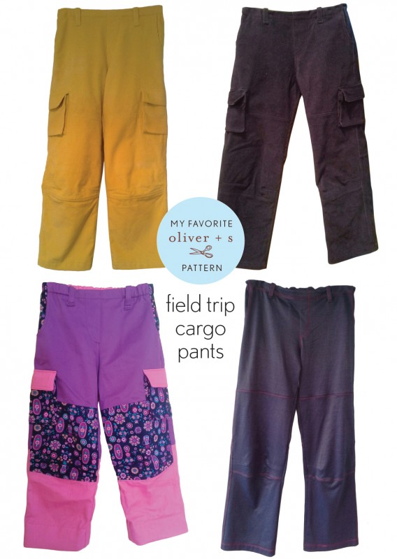 Oliver + S Field Trip Cargo Pants