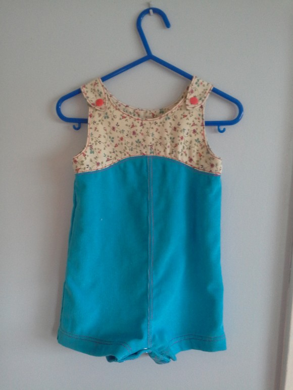 Oliver + S Teaparty playsuit