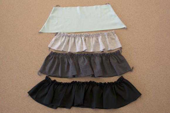 Ruffled skirt dress tutorial