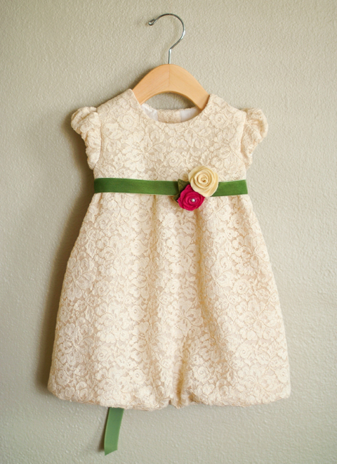 Oliver + S Bubble Dress in lace