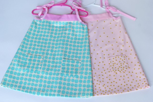 Oliver + S Popover Sundresses with Lullaby Layette pockets